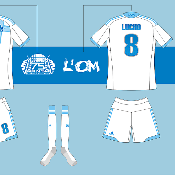 Olympique de Marseille Kit Competition (closed)