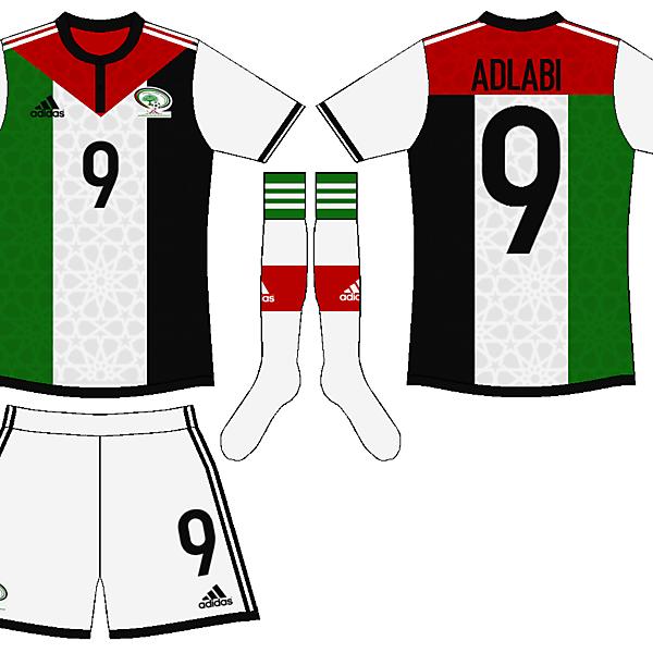 Palestine adidas design