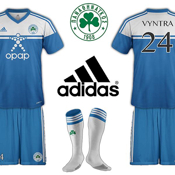 Panathinaikos Adidas Third Kit Fantasy
