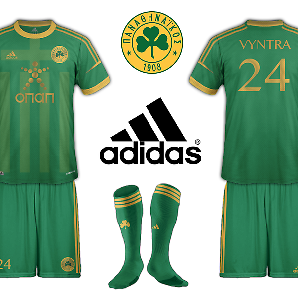 Panathinaikos Green and Gold Home Fantasy