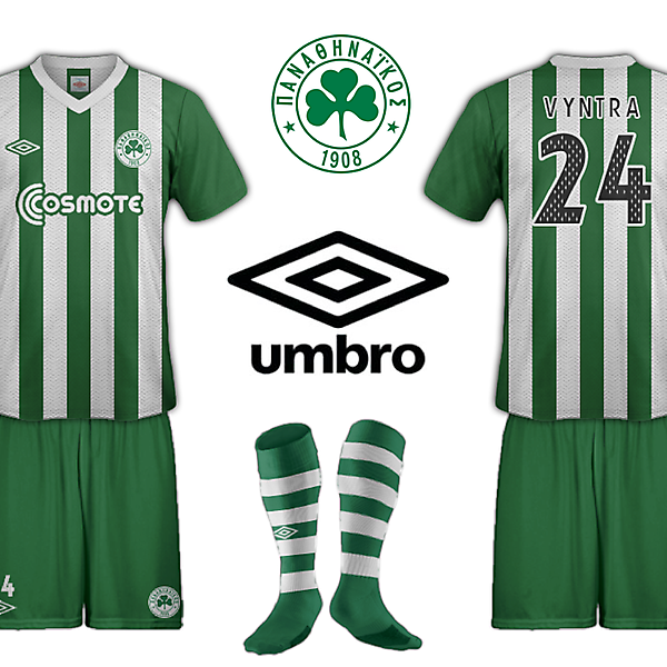 Panathinaikos Fantasy Umbro Collection