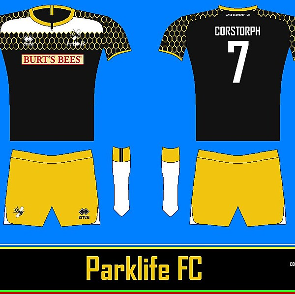 Parklife Home Kit Corstorph Design Sport