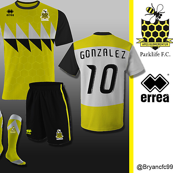 Parklife F.C. Home kit