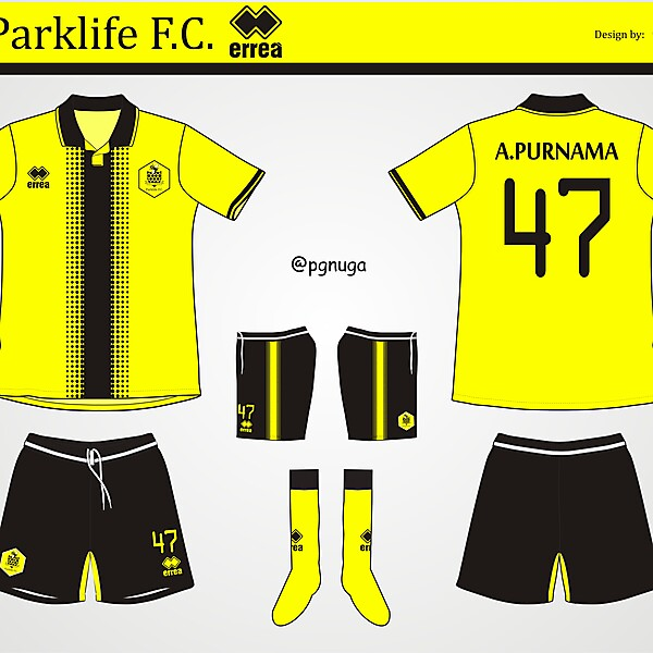 Errea Parklife FC Home Kit #1