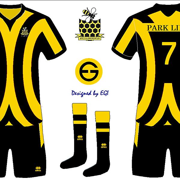 Parklife FC Home Kit