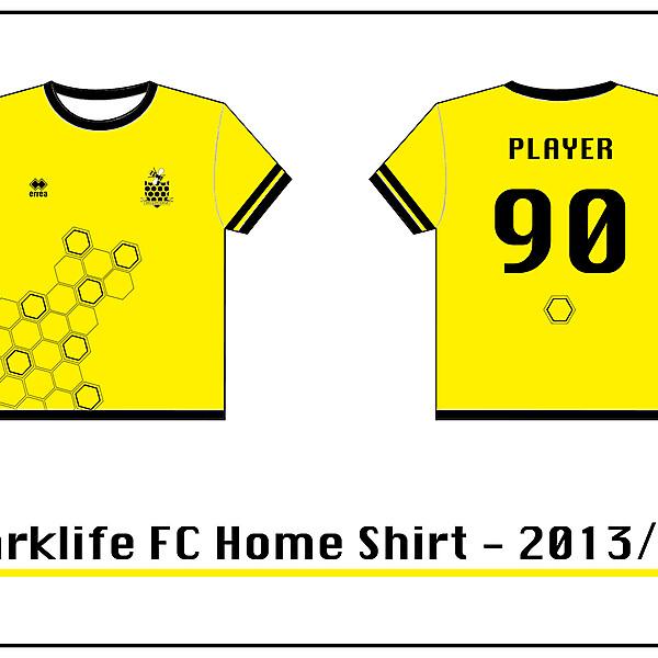 Parklife FC Home Shirt 2013/14