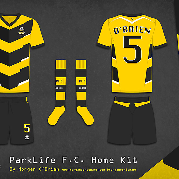 Parklife FC Home Kit 001 by Morgan O\'Brien