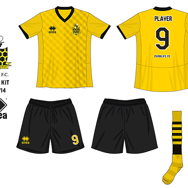 Parklife FC Home Kit - 2013-2014