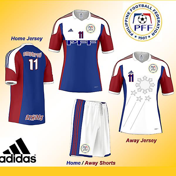 Adidas Fantasy Kit - Philippines Home / Away