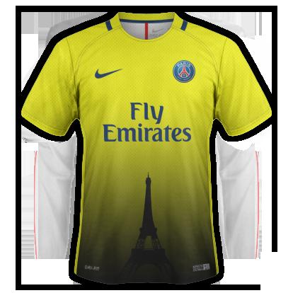 PSG Away Concept Kit