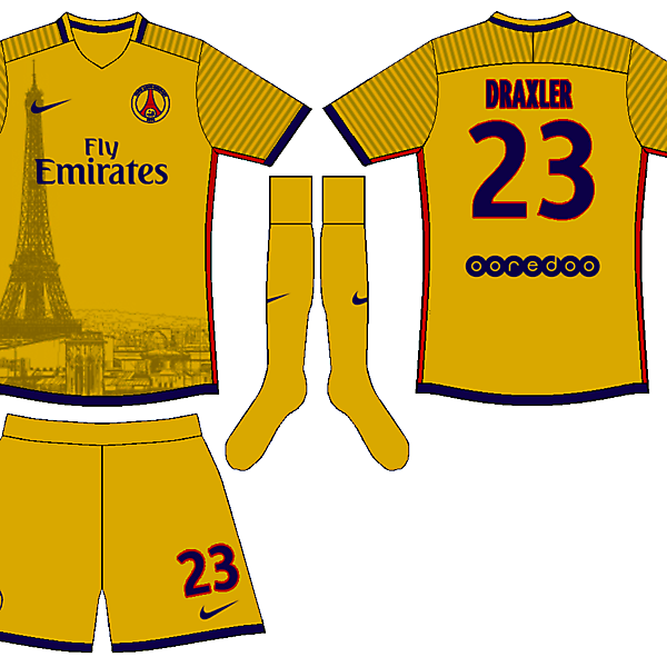 PSG Paris Landscape Kit
