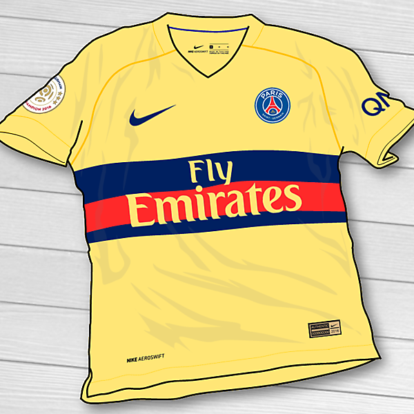 PSG Yellow Kit Concept [CLOSED]