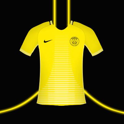 PSG Yellow Design