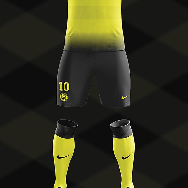 PSG Yellow Kit