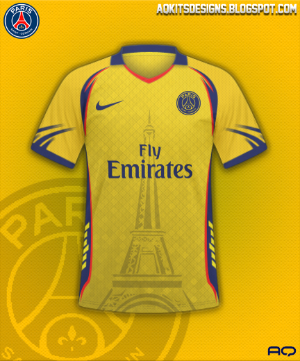 PSG Yellow Kit AQDesigns 2K17