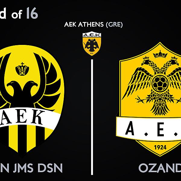 Round of 16 - Smn Jms Dsn vs Ozand