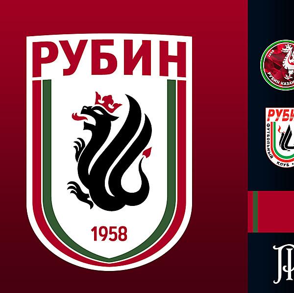 Rubin Kazan - Logo Rebrand