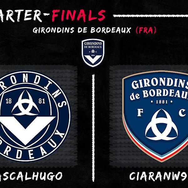 Quarter-Finals - PascalHugo vs CiaranW90