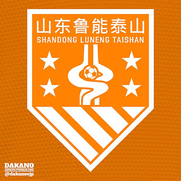 Shandong Luneng Taishan Crest