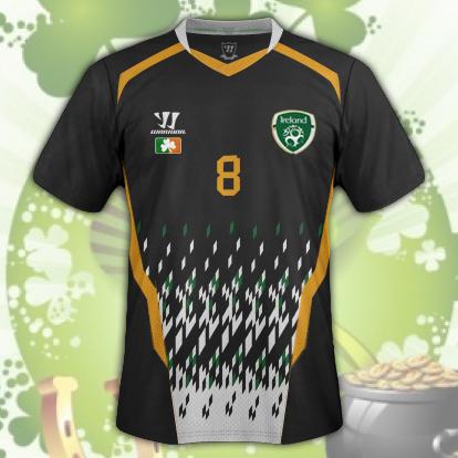 Ireland Away Kit v3