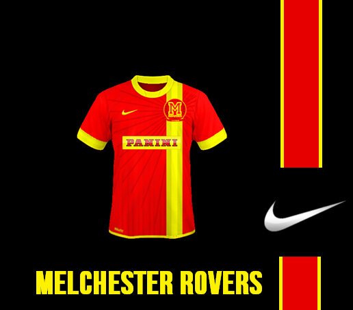 Melchester Rovers Jersey
