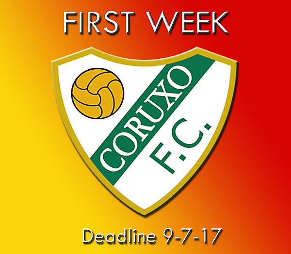 First Week Coruxo
