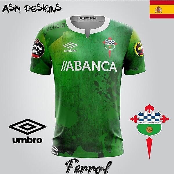 Racing de Ferrol Umbro 2018 Home Kit