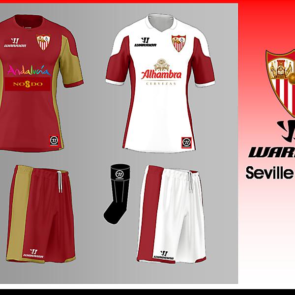 Seville FC Warrior Kit