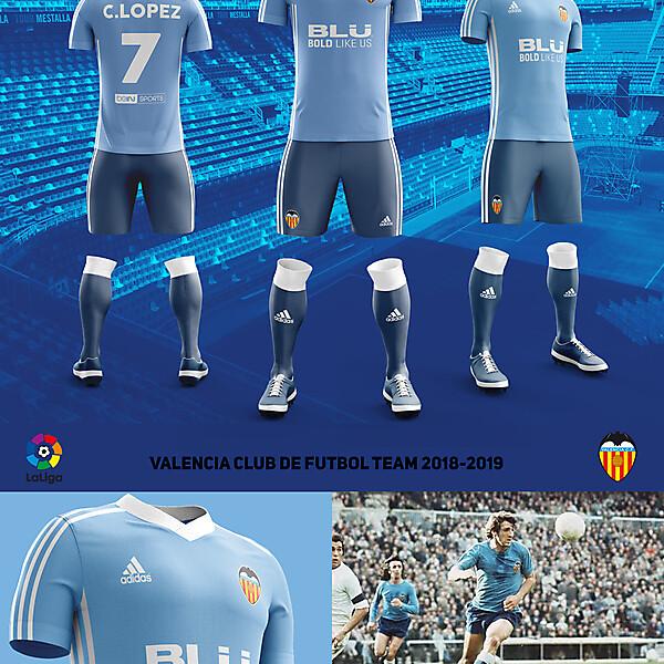 Away Fantasy Kit Valencia CF ver 4