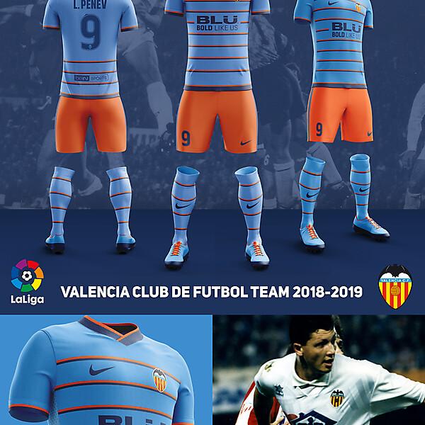 Away Fantasy Kit Valencia CF ver 6