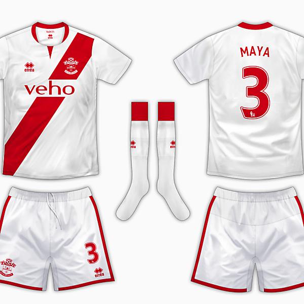 Southampton Away Kit - Errea