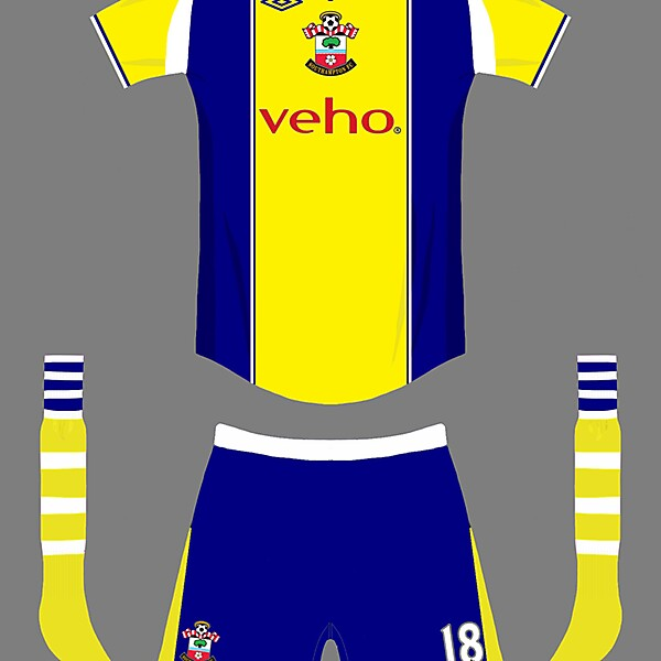 Southampton umbro away2014/15