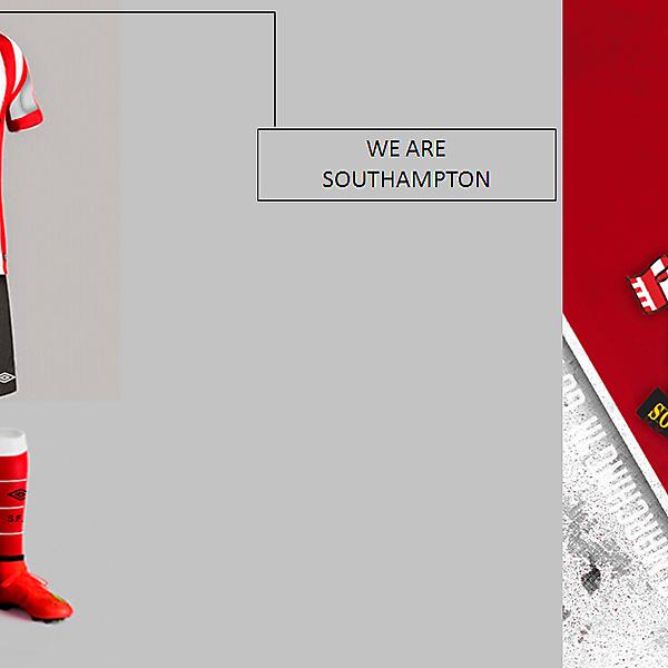 Southampton Umbro kit