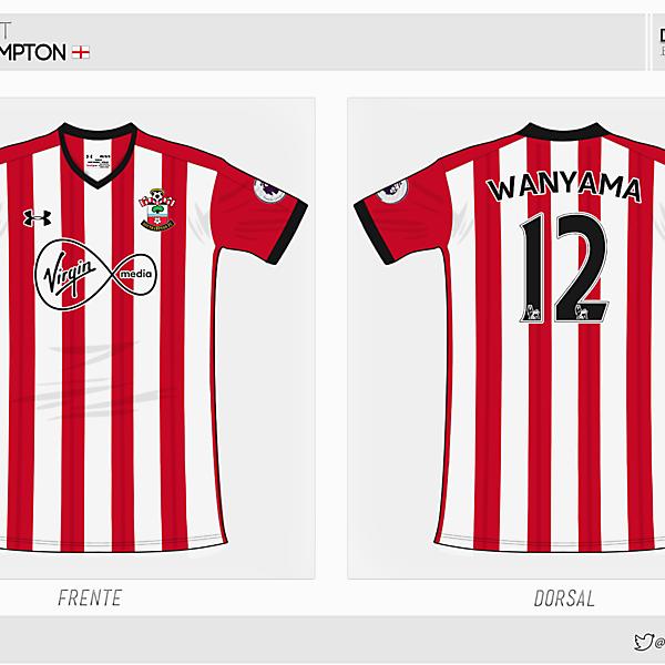 Southampton | home kit