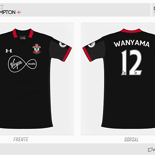 Southampton | third kit