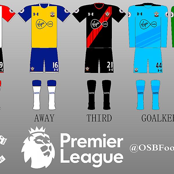 Southampton FC All Kits