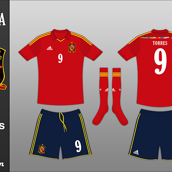 Spanish National Team Kit Competition (closed)