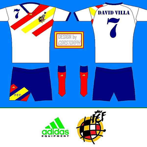 Spain Away Kit - adidas EQUIPMENT