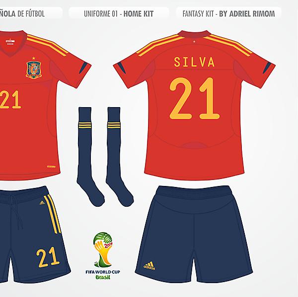 Spanish - Home Kit 2014