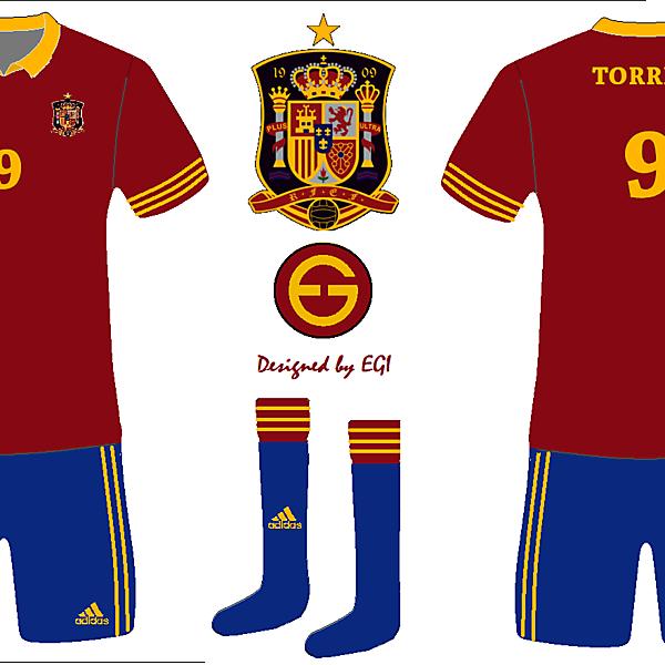 Spain Alternate Home kit 1