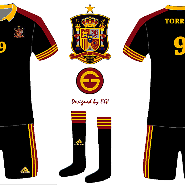 Spain National Away Kit 1
