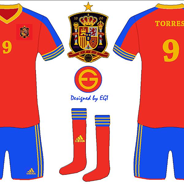 Spain National Home kit