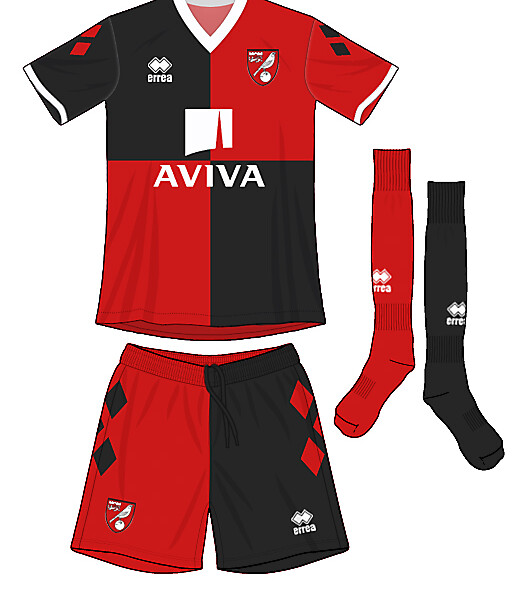 Norwich City Harley Quinn Away Kit