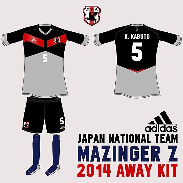 Japan Mazinger Z Away Kit