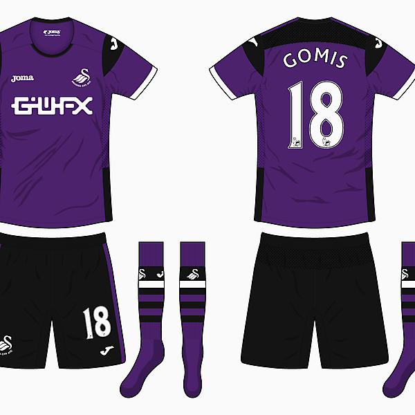 Swansea Away Kit - Joma