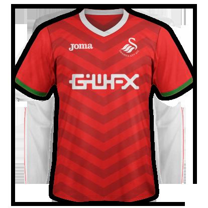 Swansea City 2016-17 Joma Away Kit