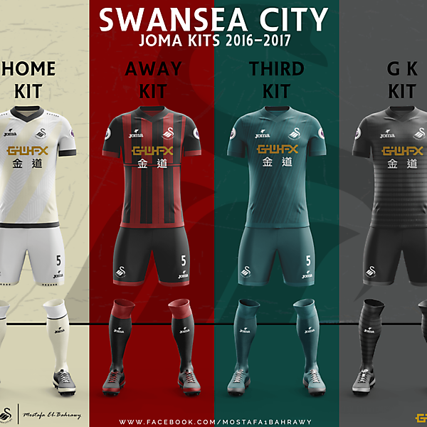 Swansea City Kits