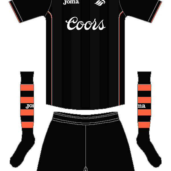 Swansea Joma Away Kit