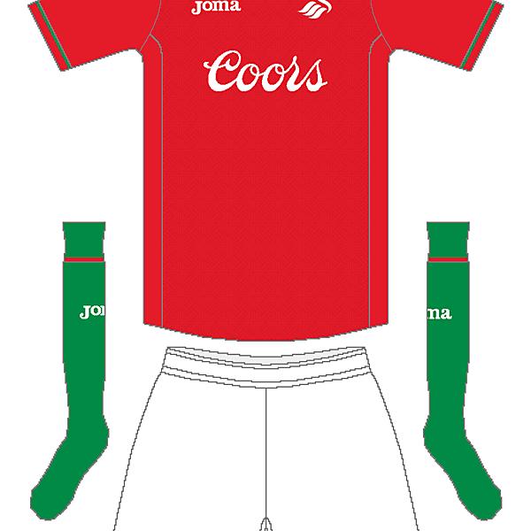 Swansea Joma Third Kit