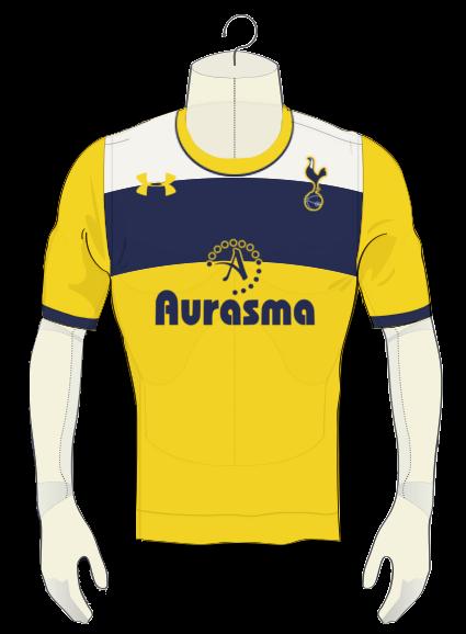 Tottenham Hotspurs 4th Kit